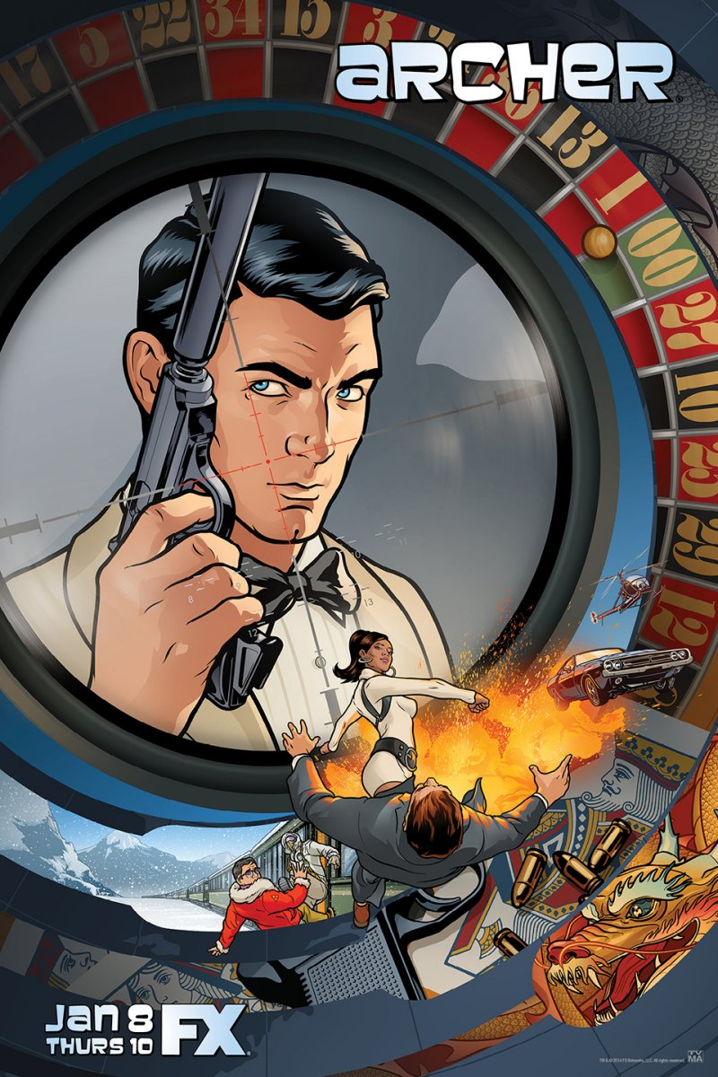 Archer Season Six Debuts TONIGHT!