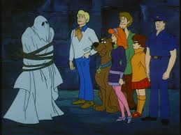Disguise technology later frequently foiled by various meddling kids.