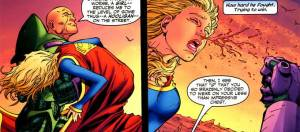 "Add ""Sexual Harassment"" To Luthor's Rap Sheet."