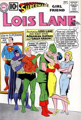 Lois got around.