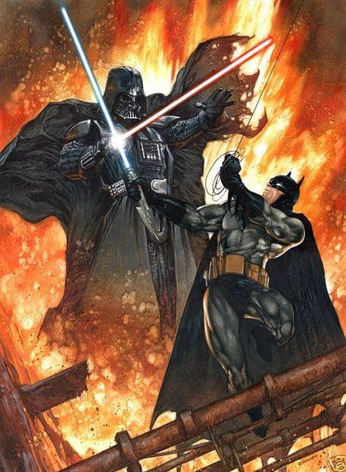 We're not saying who would win but BATMAN WOULD WIN!