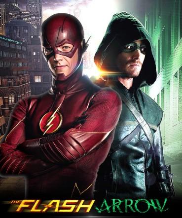 the_flash_and_arrow_tv_poster_by_timetravel6000v2-d84qbi1