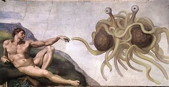 Flying Spaghetti Monster...the first Inheritor.
