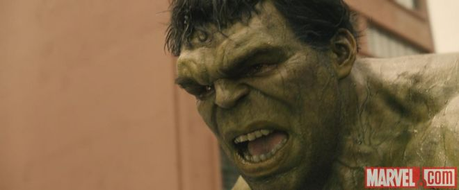 Joss Whedon suspects that's all anyone ever wants from the Hulk...coming this May!