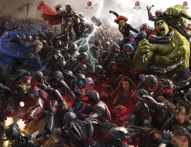 Age of Ultron opens.
