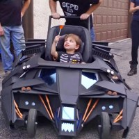 Super-Fan Build: Batmobile Baby Stroller