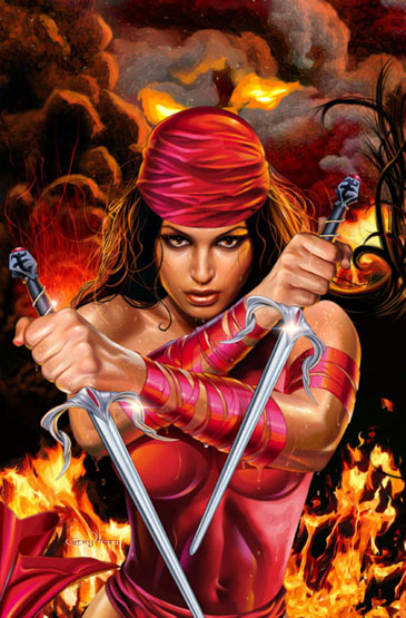 "Frank Miller has admitted he stole the original concept of Elektra from an issue of ""The Spirit"".  Then he made that awful Spirit movie.  Only one was a noteworthy tribute."