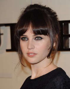 Felicity Jones at Burberry Body Fragrance Launch
