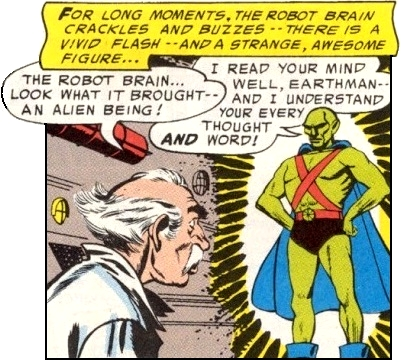 As first appearances go, this may be one the most long-lasting weird looks in comics.