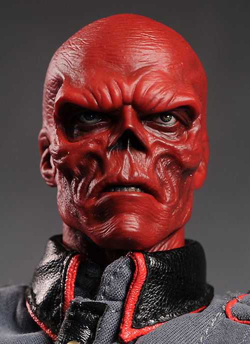 """He knows that one of my driving motivations for being evil is because I look like this, right?  I mean, he didn't fundamentally misunderstand my character to think I ENJOY looking like a Red Skull, did he? Because I would feel bad if I somehow misled this crazy person.  Oh, and Hail Hydra!"""