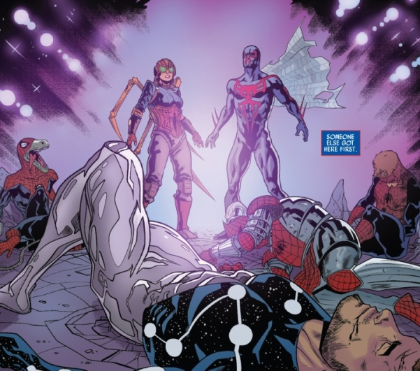 On the plus side, Captain Universe is looking better than the last time we saw him.