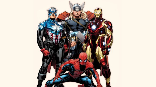 The official team picture from Marvel.