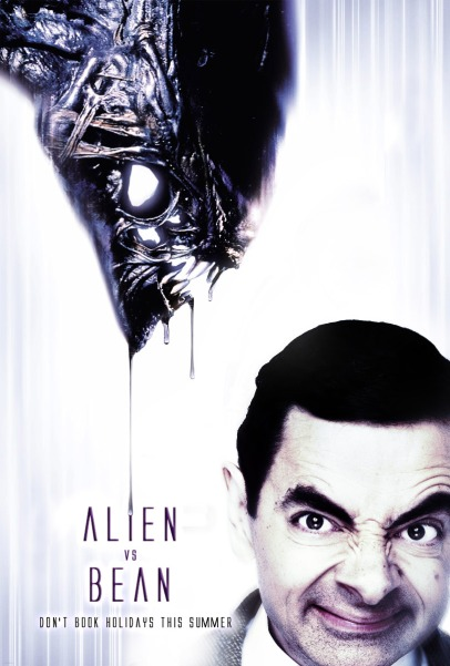Alien_vs__Bean_by_mxade