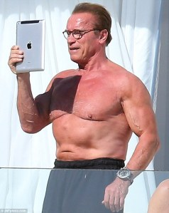 ...but ending up looking more like this Arnold.