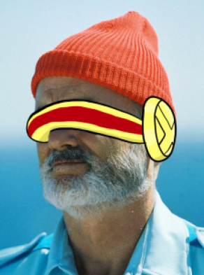 Unfortunately, Bill Murray Cyclops does not appear.