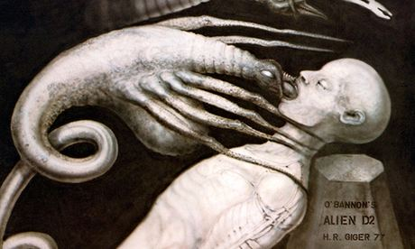 H. R. Giger Alien Artwork