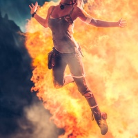 Awesome Cosplay Of The Day: LARA CROFT TOMB RAIDER
