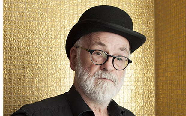 Terry Pratchett. 1948-2015.