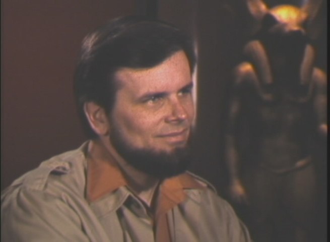 Though his  college chin beard DID inspire the creation of the Ewoks.