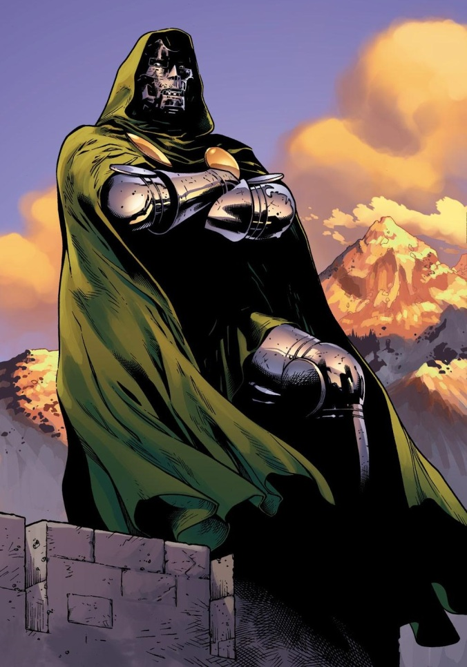 Seen In Secret Wars:  Dr. Doom's Actual Face (SPOILERS)