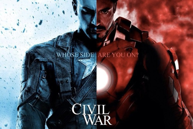 Captain America: Civil War opens