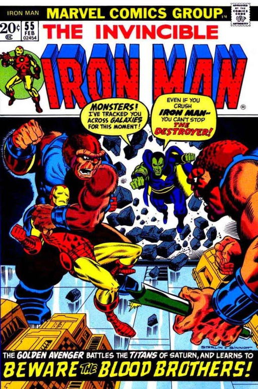Iron Man couldn't get the Hulk here, so he called his nonunion equivalent.