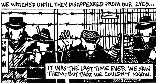 No one is endorsing Nazism with a story that depicts scenes like this.