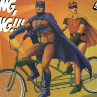 Superheroes Ride Bikes?