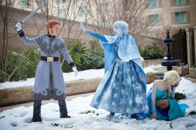 frozen cosplay 1