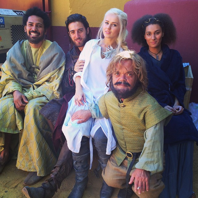 "Yes, still not the cast of ""School of Thrones""."
