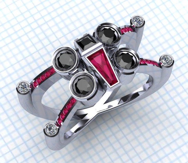 star-wars-x-wing-and-tie-fighter-engagement-rings