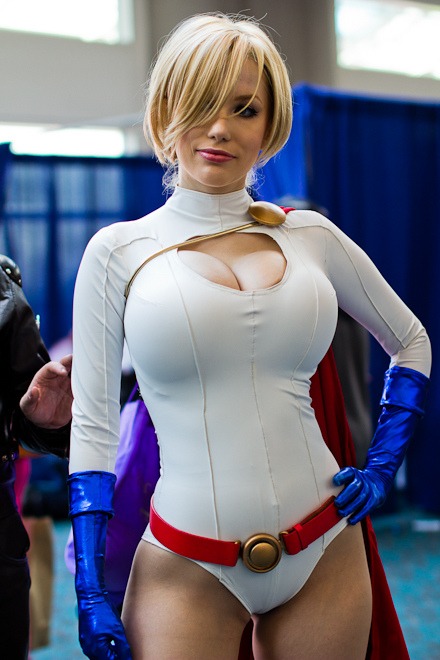 What that Power girl cosplay huge