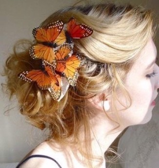 butterfly-hair