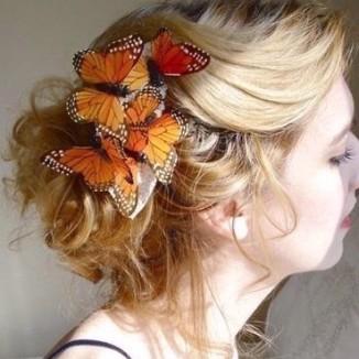 butterfly-hair
