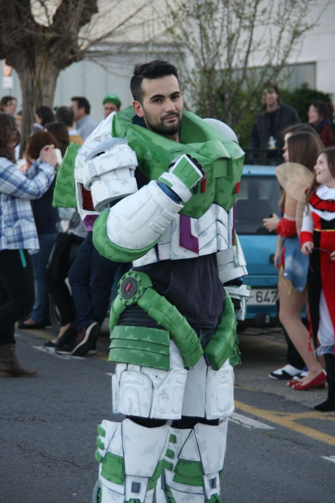 Buzz Lightyear + Space Marine