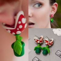 Super Mario Piranha Plant Takes A Chomp Out Of Your Ear