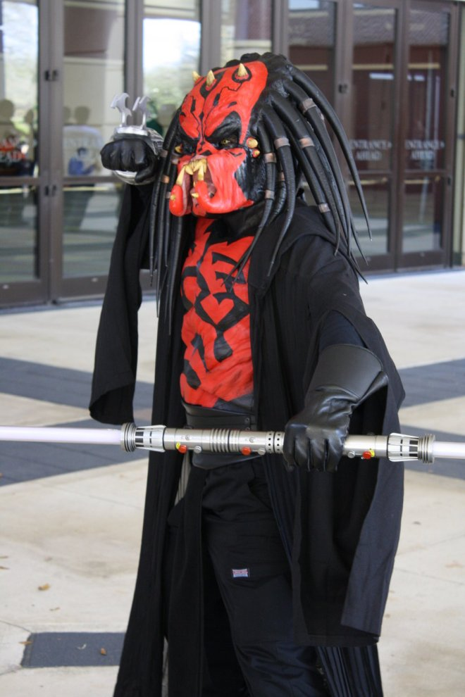 Predator + Darth Maul