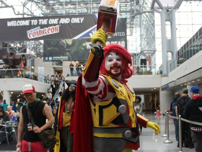 Ronald McDonald + Thor