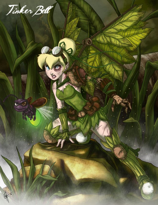 twisted_fairies__tinker_bell_by_jeftoon01-d4n7f8m