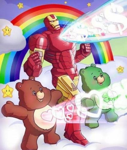 care-bear-power-with-iron-man-424x500