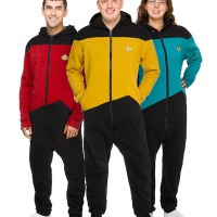 Star Trek Onesies! Because Having A Red Shirt Is Not Enough.