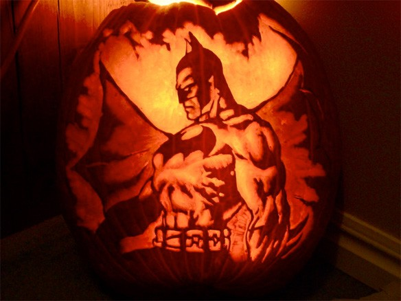 Batman-Halloween-Pumpkin