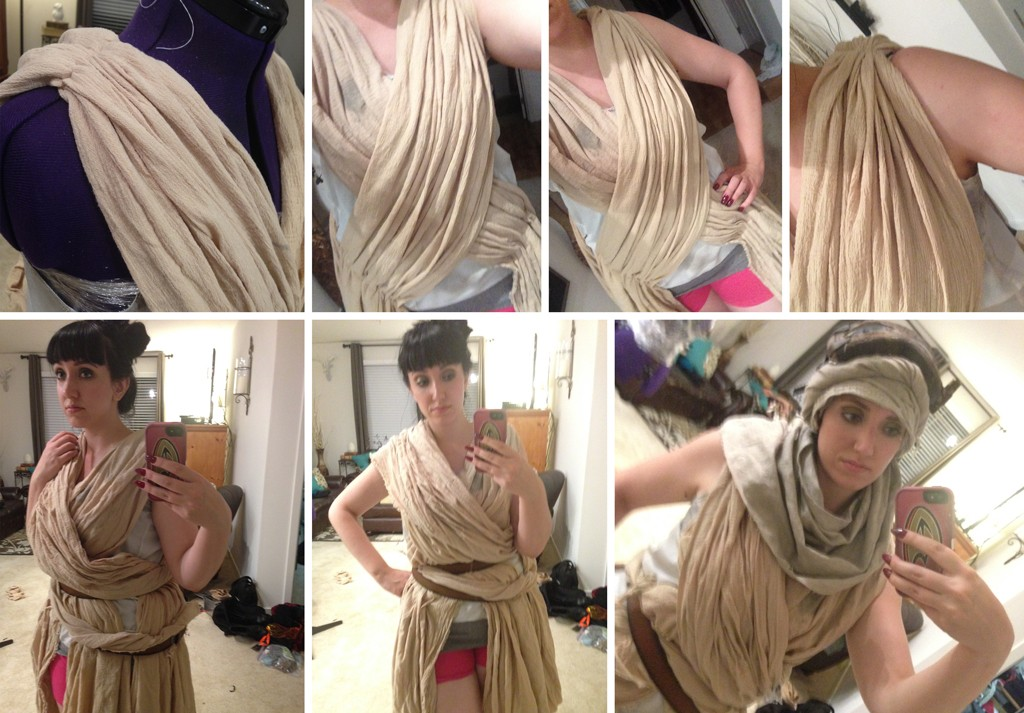 DIY Rey Costume From Star Wars: The Force Awakens ...