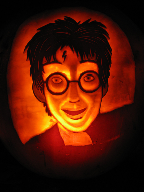 harry potter pumpkin