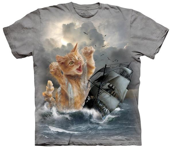 Krakitten-Kitten-Kraken-T-Shirt