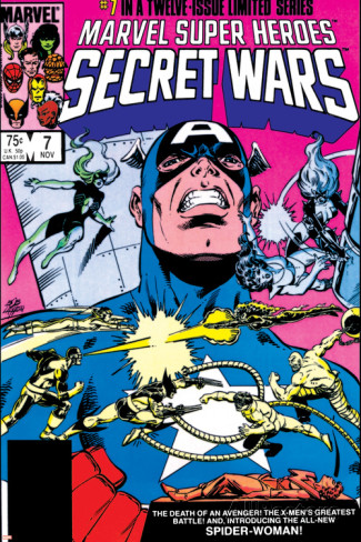 mike-zeck-secret-wars-no-7-cover-captain-america-spider-woman-doctor-octopus-and-wolverine