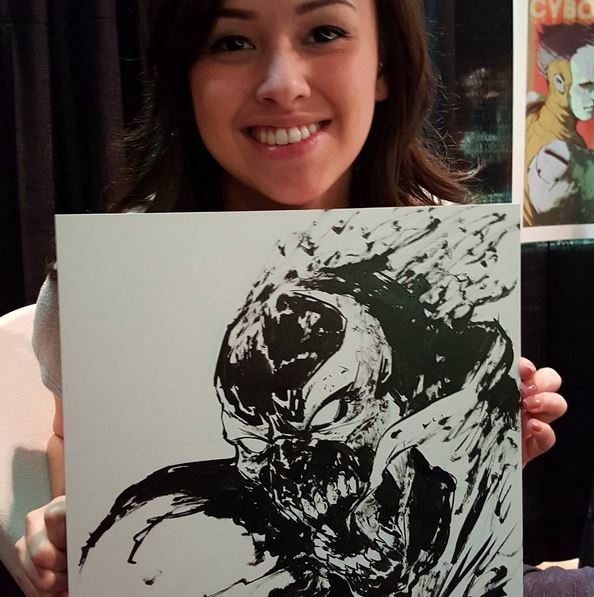 An amazing piece at MondoCon 2015 by Dave Rapoza.