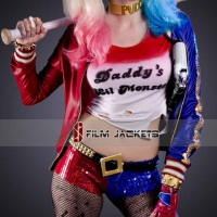 "Suicide Squad Harley Quinn ""Property of the Joker"" Jacket"