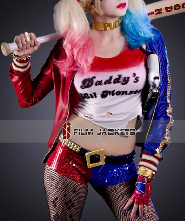 Suicide-Squad-Harley-Quinn-Jacket-front