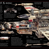 This Detailed X-Wing Engineering Schematic Will Make You So Happy